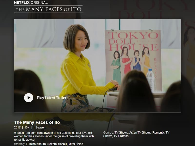Netflix The Many Faces of Ito