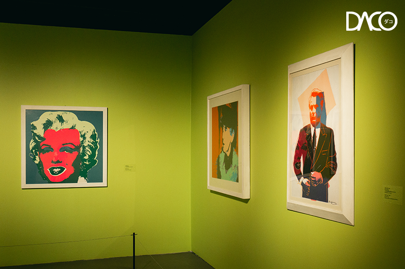 River City Bangkok, Van Gogh: Life and Art, Andy Warhol : Pop Art