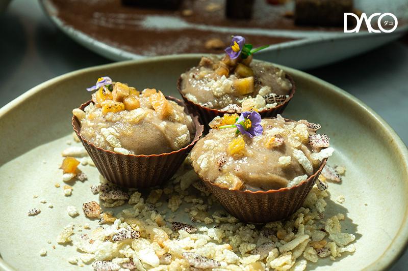 Banana Khao Mao Chocolate Tart