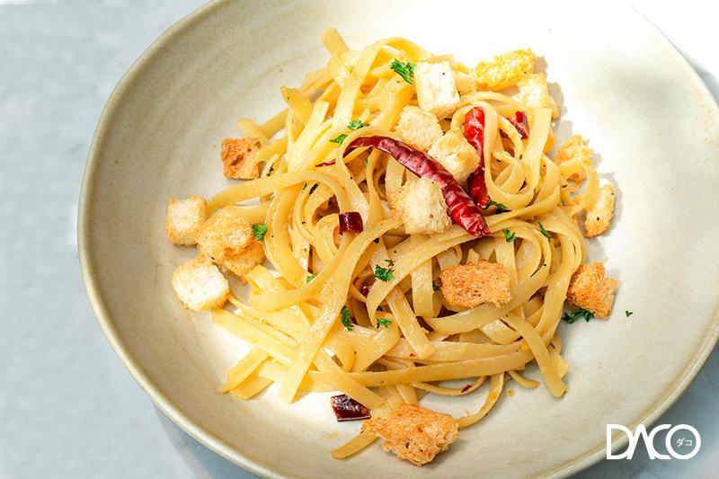 Fettuccini Garlic Anchovy