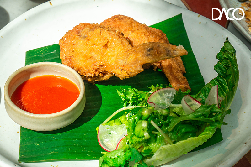 Fried Chicken with Sticky rice