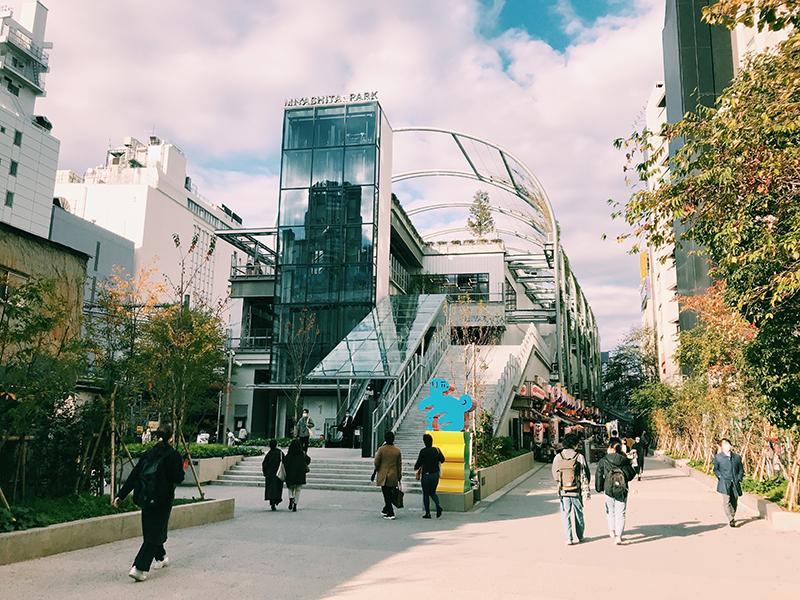 MIYASHITA PARK สถานที่ท่องเที่ยวแห่งใหม่ที่กำลังถูกจับตามอง