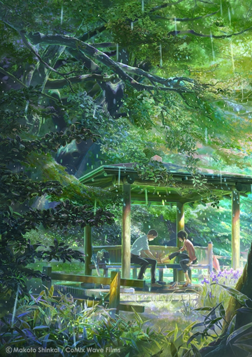 Garden of Words Makoto Shinkai / CoMix Wave Films