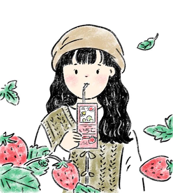 รสชาติของฤดูใบไม้ผลิในกล่องนมถั่วเหลือง Soy Milk