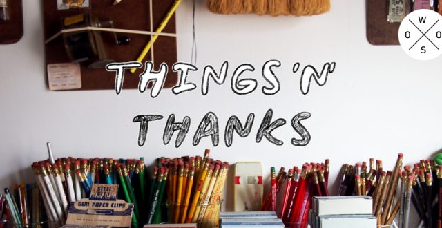 THINGS 'N' THANKS