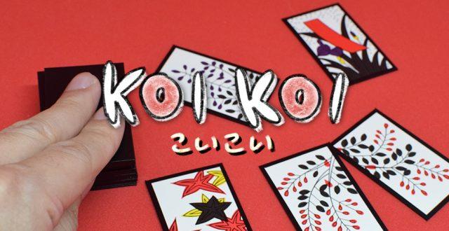 KOI KOI ไพ่ดอกไม้ ฮานะฟุดะ cards game