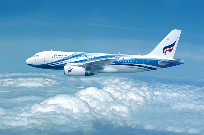 "Bangkok Airways ทะเล ท้องฟ้า และพระอาทิตย์ตกที่งดงาม ""Conrad Koh Samui"""