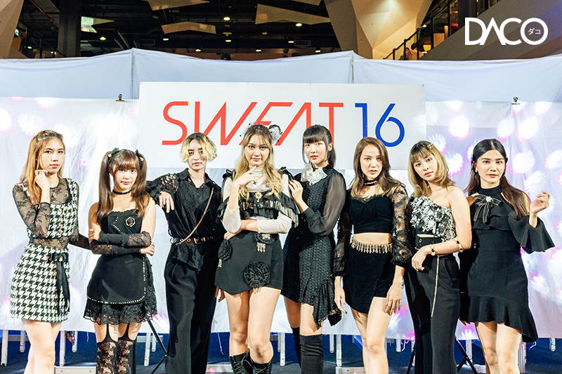 "Special interview with ""SWEAT16"""